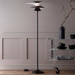 BELID Stojaca LED lampa Picasso tienidlo 38cm čierna