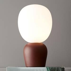 BELID Stolná lampa Buddy, tmavá hrdza