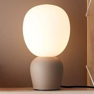 BELID Stolná lampa Buddy pieskovej farby