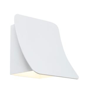 BELID Vonkajšie nástenné LED svetlo Bend IP54 biele