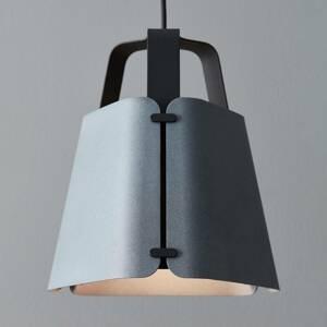 BELID Závesná lampa Fold, betónový povrch, 27,5 cm