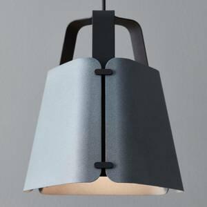 BELID Závesná lampa Wrap, betónová štruktúra, 33,3 cm