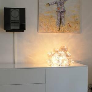 By Rydéns By Rydéns Gross sklenená stolná lampa jantárová