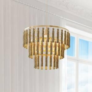 By Rydéns By Rydéns Chloe závesná lampa s látkovými zväzkami
