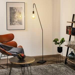 By Rydéns By Rydéns Rod stojaca lampa, čierna, výška 180cm