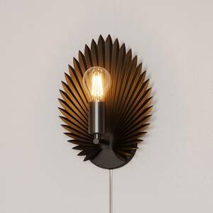 By Rydéns By Rydéns Aruba nástenné svietidlo, čierna