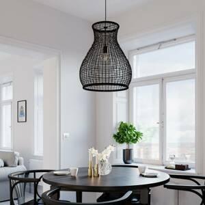 By Rydéns By Rydéns Seagrass závesná lampa, čierna