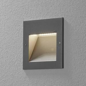 BEGA BEGA 24202 nástenné LED svetlo 3000K striebro