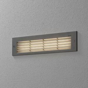 BEGA BEGA 33019 nástenné LED svetlo 3000K striebro 32cm
