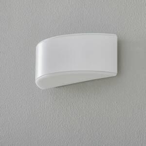 BEGA BEGA Prima nástenné svietidlo clona biele 25,4cm