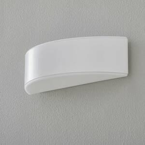 BEGA BEGA Prima nástenné svietidlo clona biele 35,4cm