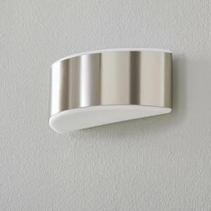 BEGA BEGA Prima nástenné svietidlo clona oceľ 25,4cm