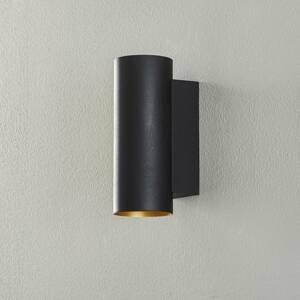 BEGA BEGA Studio Line nástenné okrúhle čiernozlaté 21cm