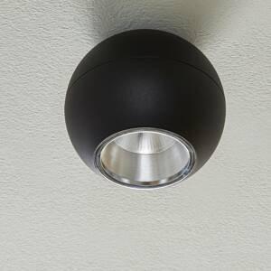 BEGA BEGA Studio Line bod symetrické čierne/hliník Ø14