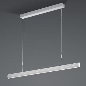 BANKAMP BANKAMP Pure F LED ZigBee stmievateľné nikel