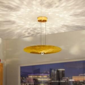 BANKAMP BANKAMP Wisdom závesné LED lístkové zlato Ø60cm