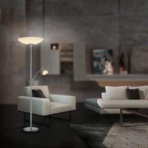 BANKAMP BANKAMP Meisterwerke stojaca lampa uplight, nikel