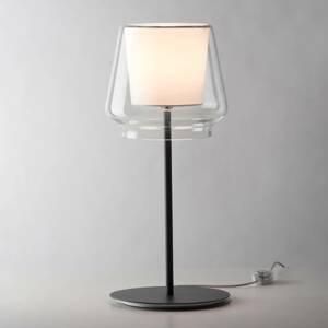 Casablanca Casablanca Aleve stmievateľná lampa látka biela