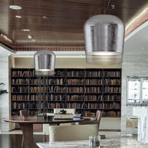 Casablanca Casablanca Syss závesná lampa 1-pl striebro Ø 23cm