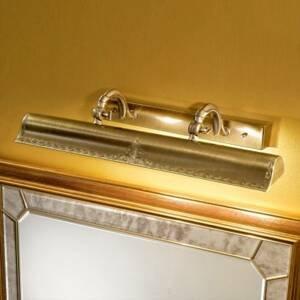 Cremasco Obrazové svetlo Galleria zlatej farby