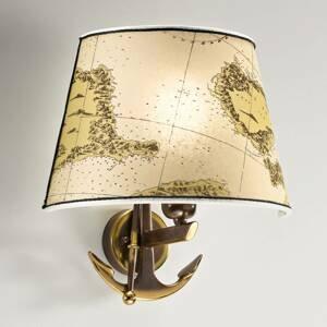 Cremasco Nástenné svietidlo Nautica 1-pl. 31 cm s kotvou