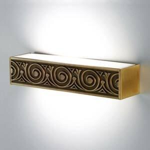 Cremasco Vznešene zdobené nástenné svietidlo Greca