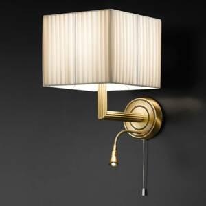 Cremasco Nástenné svietidlo Imperial, LED lampou na čítanie