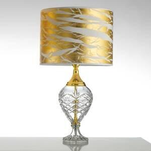 Cremasco Stolná lampa Belle Epoque, 59cm zlatá