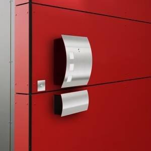 CMD Vysoko kvalitná poštová schránka Alani1, oceľ
