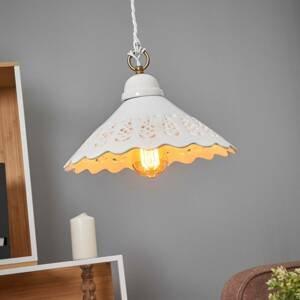 Ceramiche Závesná lampa Pizzo, 1-pl, 30cm