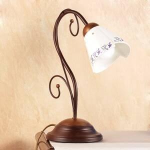 Ceramiche Stolná lampa Cartoccio