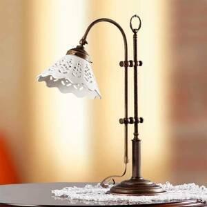 Ceramiche Stolná lampa Pizzo