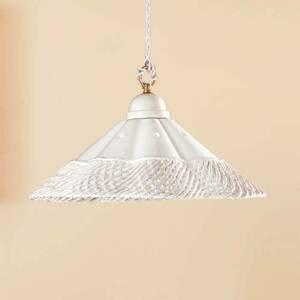 Ceramiche Závesná lampa Gonnella, ozdobný kraj dole