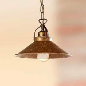 Ceramiche Rustikálna závesná lampa BRUNO 25cm