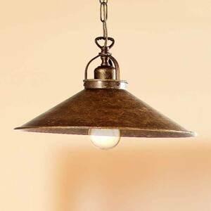 Ceramiche Rustikálna závesná lampa BRUNO 35 cm