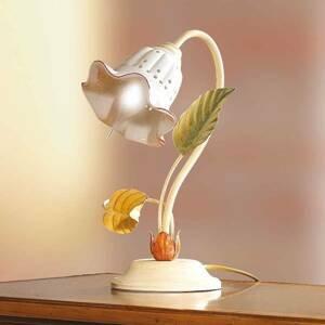 Ceramiche Stolná lampa Flora vo florentínskom štýle