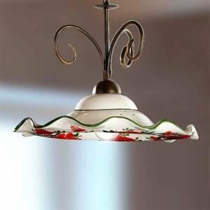 Ceramiche Závesná lampa ROSOLACCI