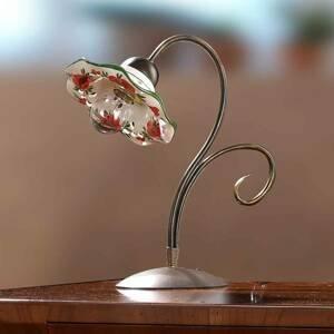 Ceramiche Stolná lampa ROSOLACCI s keramickým tienidlom