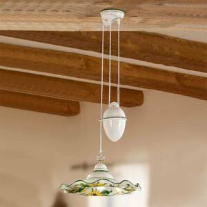 Ceramiche Výškovo variabilná závesná lampa GIRASOLA, tiahlo