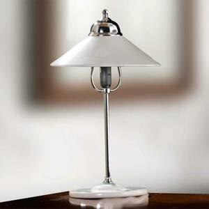 Ceramiche Stolná lampa GIACOMO s keramickým tienidlom