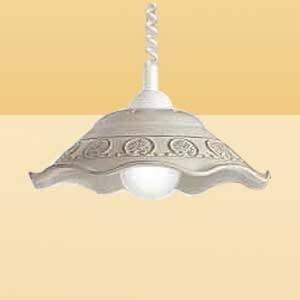 Ceramiche Rustikálna závesná lampa FRANCA