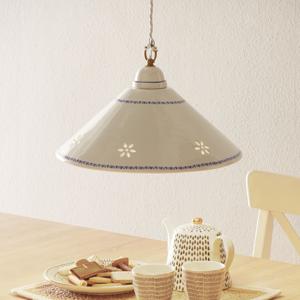 Ceramiche Biela závesná lampa NONNA z keramiky, 40cm