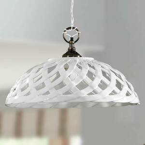 Ceramiche Závesná lampa Emanuel Keramik priemer Ø 42cm