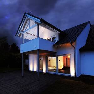 Deko-Light Zapustené podlahové LED Jeremia 32,8cm teplé biele