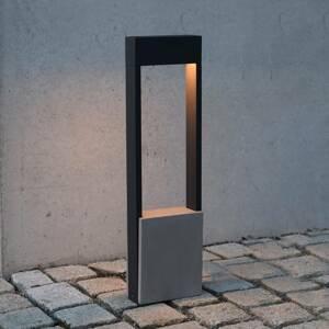 Deko-Light Chodníkové LED Chertan, betónový prvok, 60cm