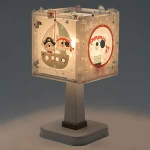 Dalber Pirates – hranatá stolná lampa do detskej izby