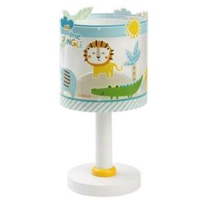 Dalber Detská stolná lampa Little Jungle, fluoreskujúca