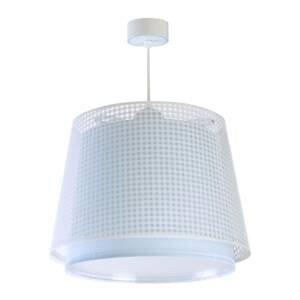 Dalber Detská závesná lampa Vichy, 1-pl., modrá