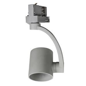 BIOleDEX Reflektor Tres pre 3-fázovú koľajnicu, E27 sivý