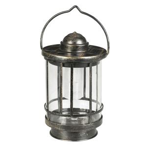 Duracell Dekoratívna stolná LED lampa Finlay tienidlo sklo